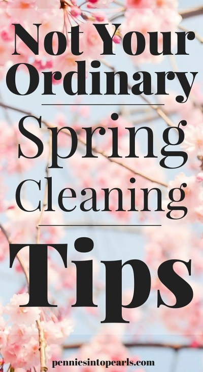 Fun and cheap spring cleaning ideas that are not what you normally think when it comes to spring cleaning. Helpful spring cleaning tips and tricks to get your spring cleaning done quick, fun, and cheap.