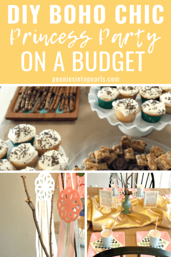 You do not have to break your budget to throw a great party! These fun tribal princess party ideas saved me money when planning an adorable kids boho chic birthday party on a budget!