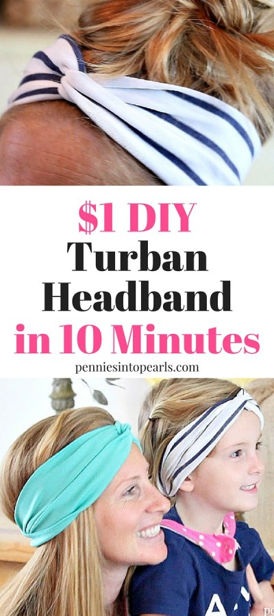 Turban Headband Pin