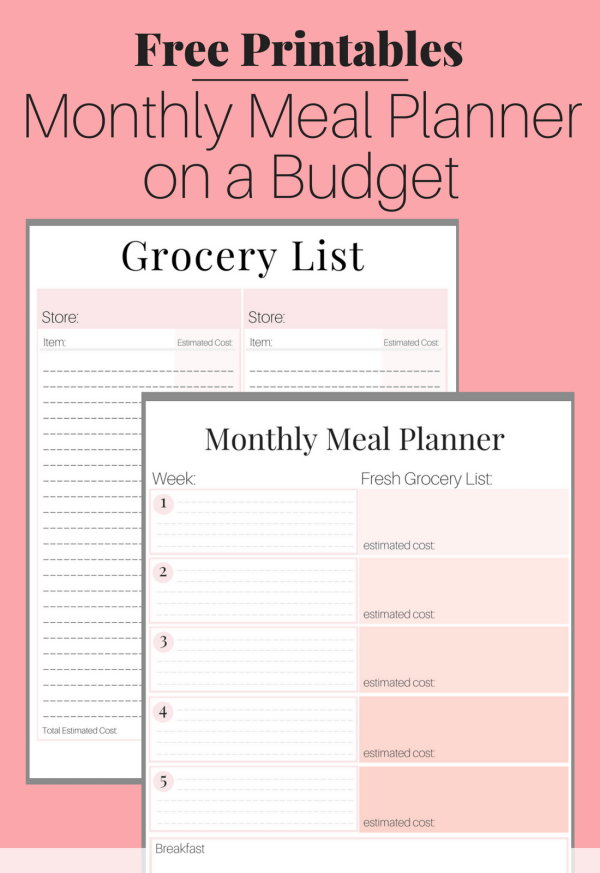 Stay on budget and organized with this FREE PRINTABLE Meal Planning on a Budget Toolkit. Easily save over $500 this month by using this step-by-step guide on how to meal plan on a budget. This is the exact system our family of five uses to save thousands of dollars each year, simply through meal planning!