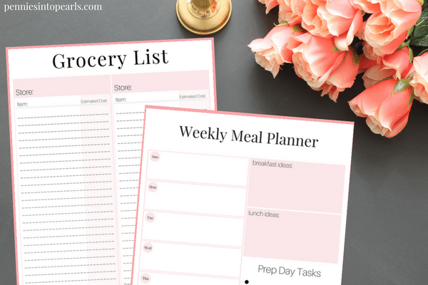 Stay On Budget And Organized With This FREE PRINTABLE Meal Planning On A  Budget Toolkit.