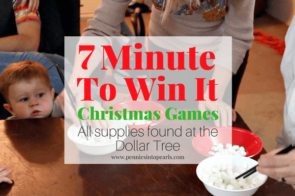 Minute To Win It Christmas Games.7 Minute To Win It Games From The Dollar Tree Christmas