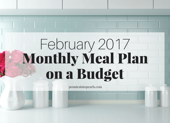 You can choose to either download the FREE PRINTABLE meal plan full of recipes to last you an entire month for less than $300 OR print off a free printable meal planning on a budget toolkit. The free template will help you plan your meals and stay on budget!