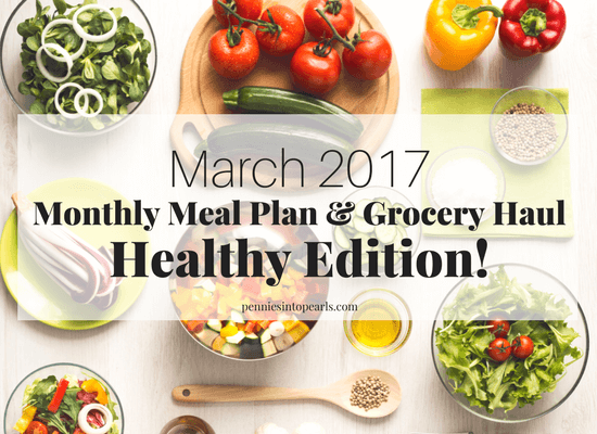 A Healthy Meal Plan that includes FREE PRINTABLES with every recipe you need for an entire month! Not only is this meal plan full of healthy and easy recipes, all these healthy recipes can be made on a $400 monthly grocery budget.