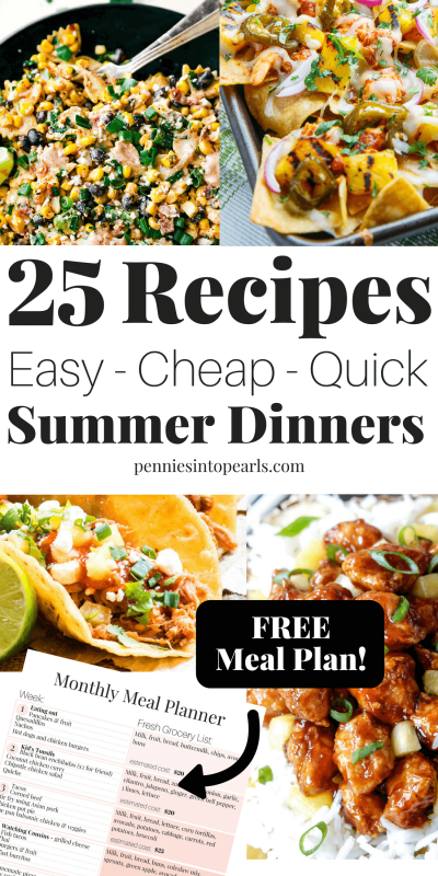 20 easy summer dinner recipes you can make for your family for Easy things to make for dinner for two