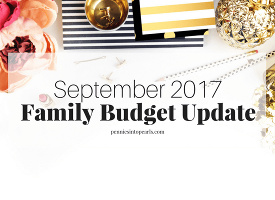 Real Life Family Budget Updater 2017