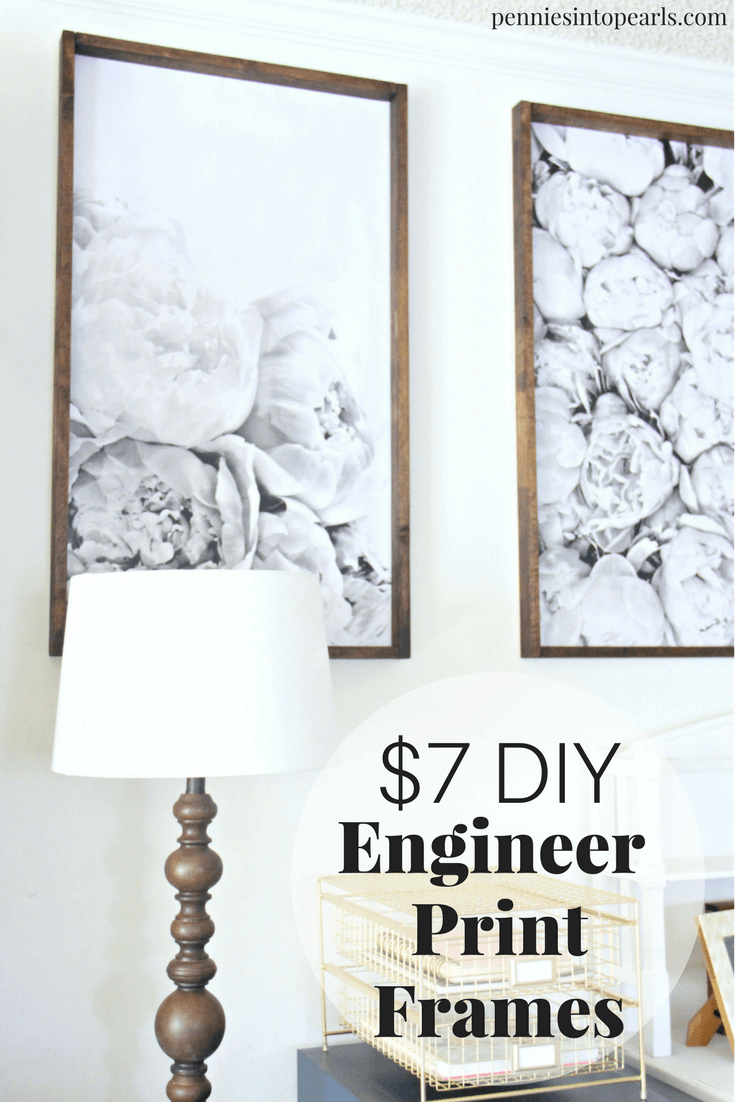 Nice Easy Tutorial On For A DIY Engineer Print Frame That Will Take You Less  Than An