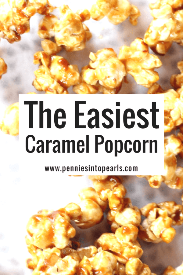 I love this easy homemade caramel popcorn! It is the best caramel popcorn recipe I have ever tried! Everyone loves it, I even make it and give it for simple DIY gifts!