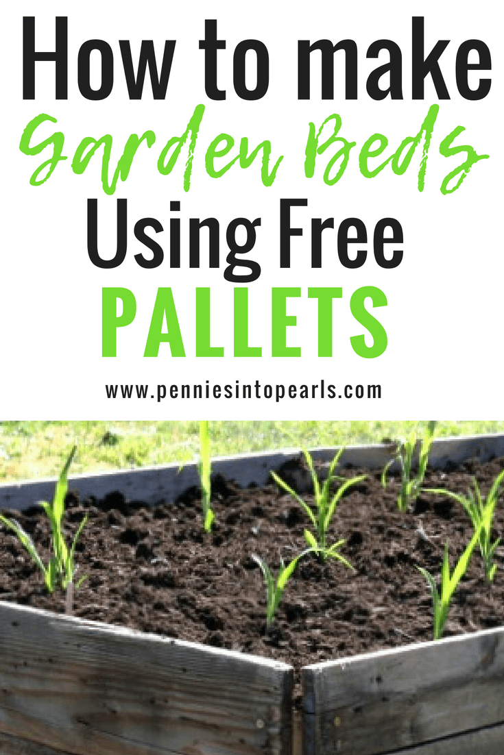 How To Build Raised Garden Beds With Pallets