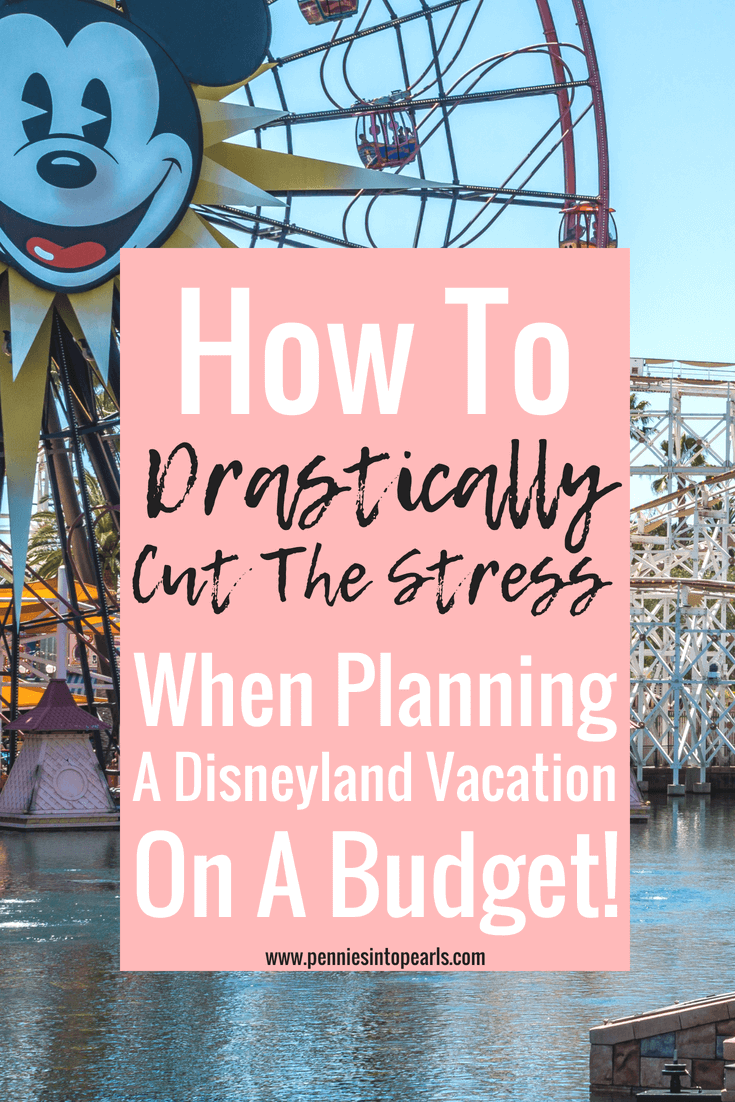 Forget the stress of planning a Disneyland vacation with these four tools to help you save money on a Disneyland trip! Learn how to plan the cost of a Disneyland trip so you aren't scrambling during your Disney vacation trying to figure out the money. These tools will help you completely enjoy your next Disneyland vacation!