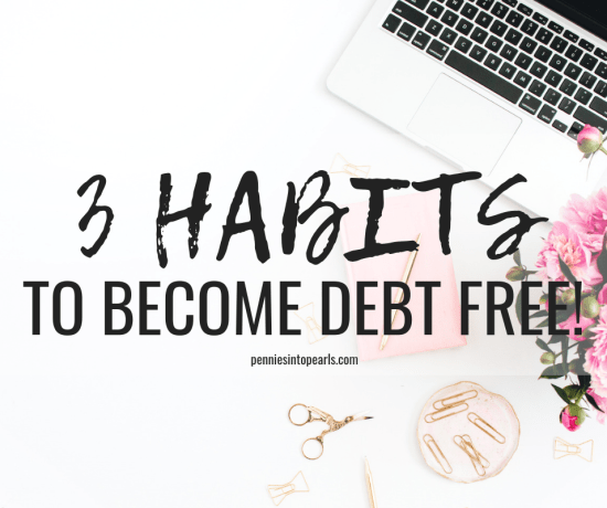 You probably don't even realize it yet, but chances are you are living with a few subtle habits that are eroding the stepping stones for you to start paying off debt. Let's shine some light on those habits to help you quit over spending and start paying off debt quick!