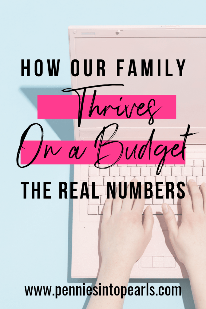 See a real life family budget with all the numbers shared in one place! See the mistakes and lessons learned from managing a family budget. Lots of tips useful for budgeting for beginners and anyone trying to stop living paycheck to paycheck.