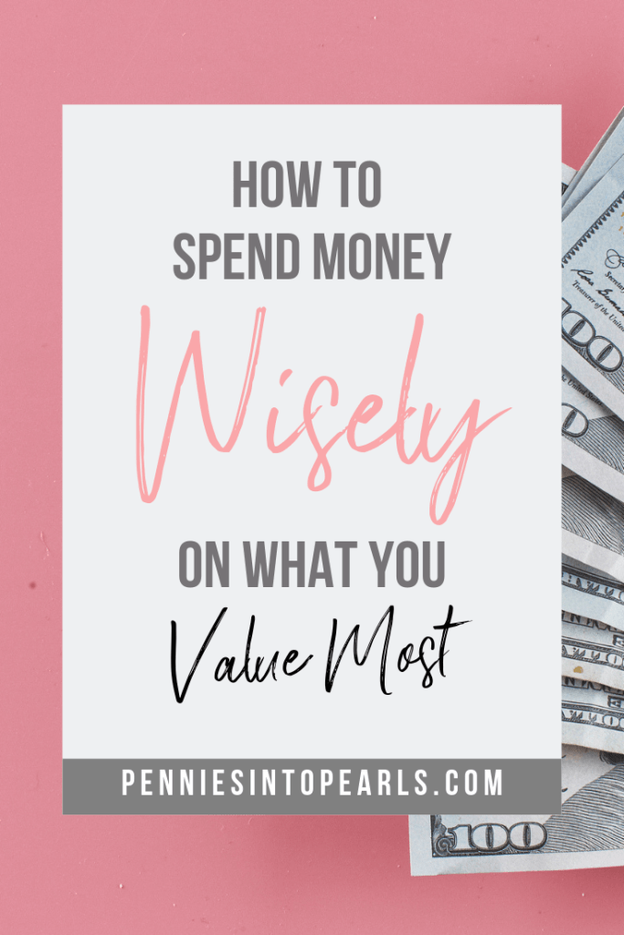 How do you know if you are spending your money where you're supposed to? Do you know how to spend money wisely? You're going to be surprised by the answer to this question!