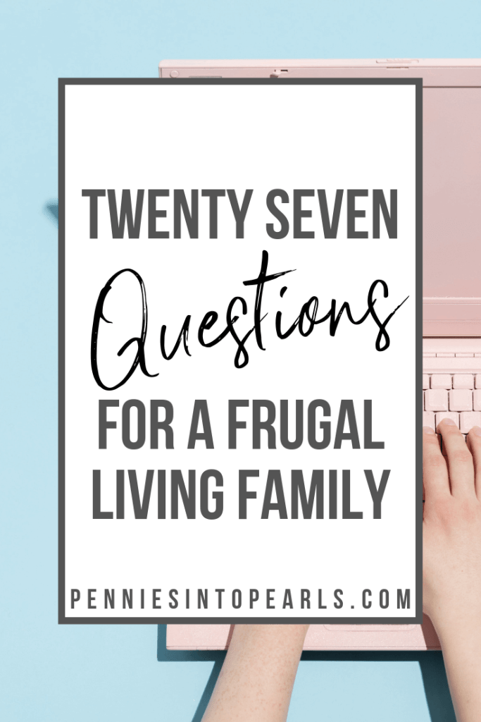 Trying to figure out how to do the whole frugal living thing? Watch this real life frugal living family answer viewer questions to help you make smarter money decisions for your own family on a budget.