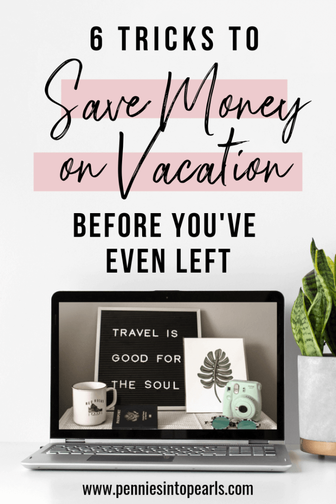 Do you tend to overspend on your vacations? I have 6 Money Saving Hacks for Your Next Vacation that are sure to be useful for you. These tricks have helped our family save hundreds of dollars.