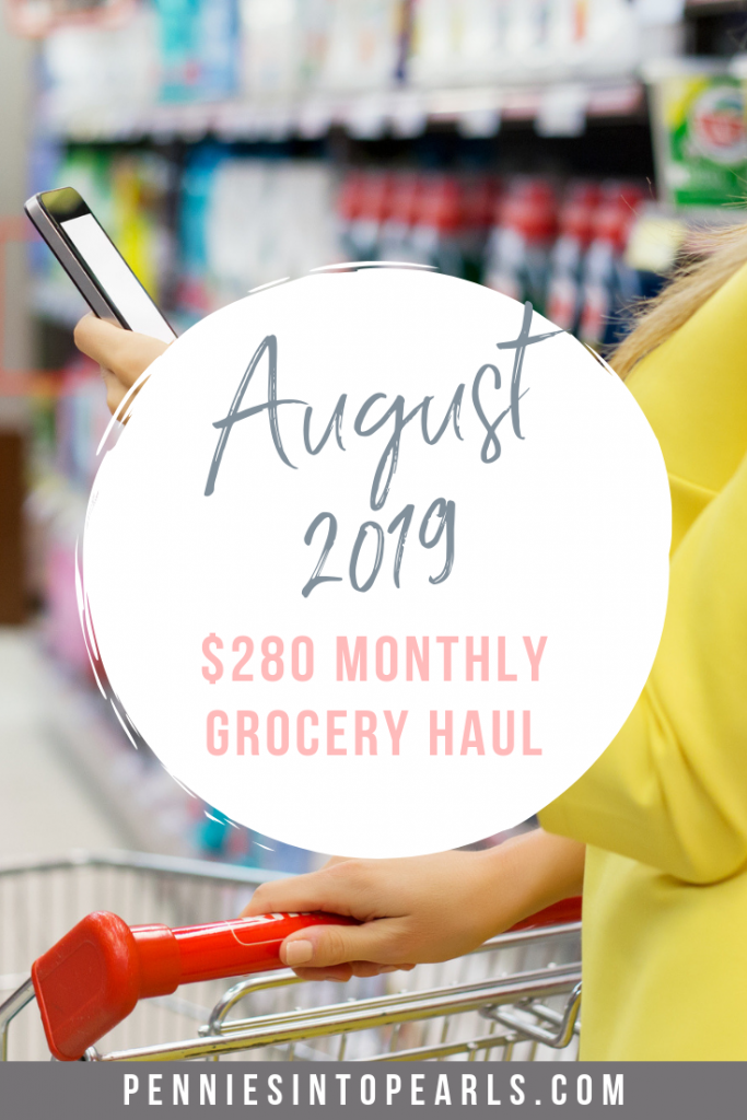 This is our real life family grocery haul on a budget. Every single item we bought and how we stuck to a $280 budget for a family of five. Watch this VIDEO showing you exactly what we bought in our Costco and Target grocery haul.