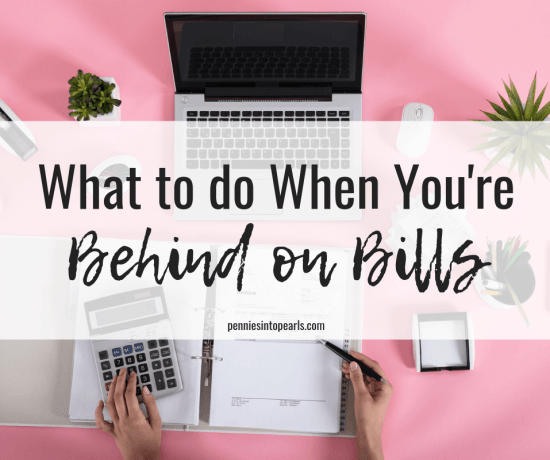 This is what to do when you are behind on bills and how to never let it happen again. Here are 8 steps to take when you are behind on bills to help you get things under control quickly.