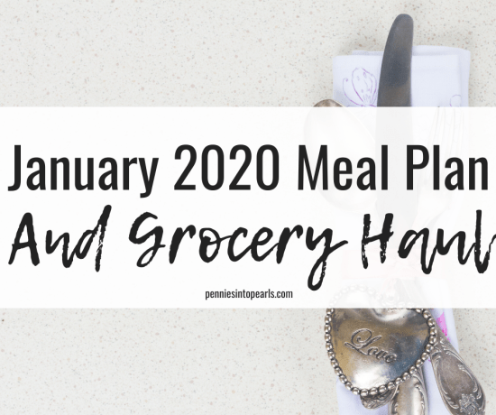 Use this family budget meal plan this January and feed your family for under $520! You will start saving money on groceries as soon as you use this family budget meal plan!