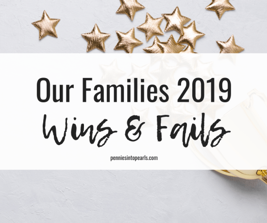 Today we are sharing our top 3 budget wins and fails for 2019! We hope this post inspires you to look back at your finances and make a plan for 2020 to overcome any challenges you've had.
