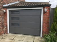 Hormann sectional garage door, Denton - Pennine Garage Doors