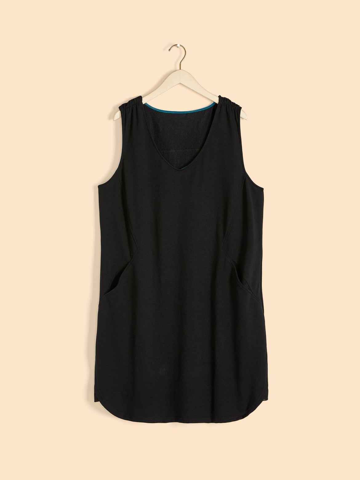 Solid Sleeveless Dress - ActiveZone