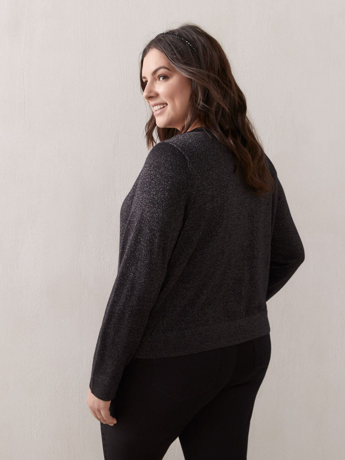 Long-Sleeve Crop Cardigan - In Every Story