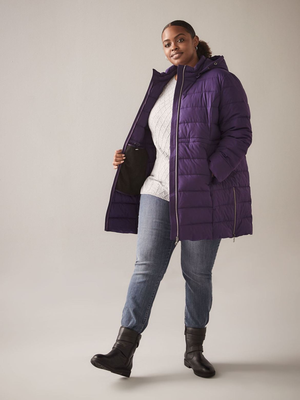 Packable Faux-Down Jacket - In Every Story