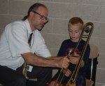 """Test driving"" a trombone"