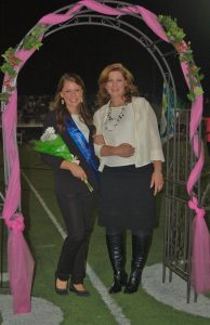 The runner-up for the crown was Jenn Adams, who was escorted by her mother, Mary Beth Adams