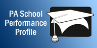 PA school performance profile logo
