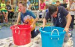 Bobbing for apples at Letort