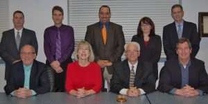 Pictured are members of the board (front row, from left) Rich Frerichs, Donna Wert, J. Kenneth Long, Carlton Rintz, (back row, from left)Kirk Schlotzhauer,David Paitsel,Joseph Fullerton,Johnna Friedman and Christopher Straub.