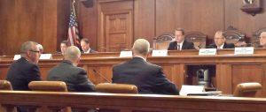 Mike testifying
