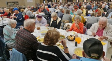 """More than 250 turned out for """"Dinner and a Show."""""""