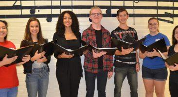 County Chorus Students