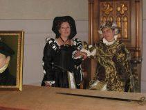 """""""Catherine de Médicis et son fils Charles IX"""" ,membres de L'Edit"""
