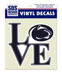 Penn State Large Love Logo Decal | Souvenirs > STICKERS ...