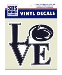 Penn State Small Love Logo Decal | Souvenirs > STICKERS ...