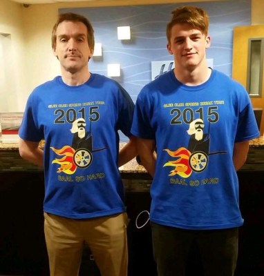 SBT15- Dr. Kiver, Mike Sellers with Tour Shirts