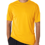Spiritwear Performance Tee (gold) $15
