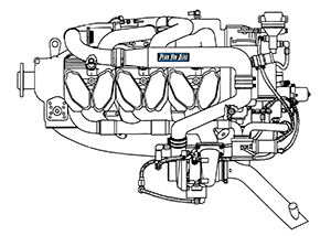Continental IO-520 Aircraft Engines