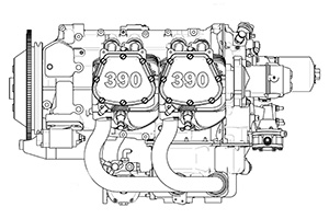 Lycoming IO-390 Aircraft Engines