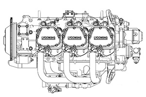 Lycoming AEIO-580 Aircraft Engines
