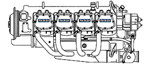 Lycoming IO-720 Aircraft Engines