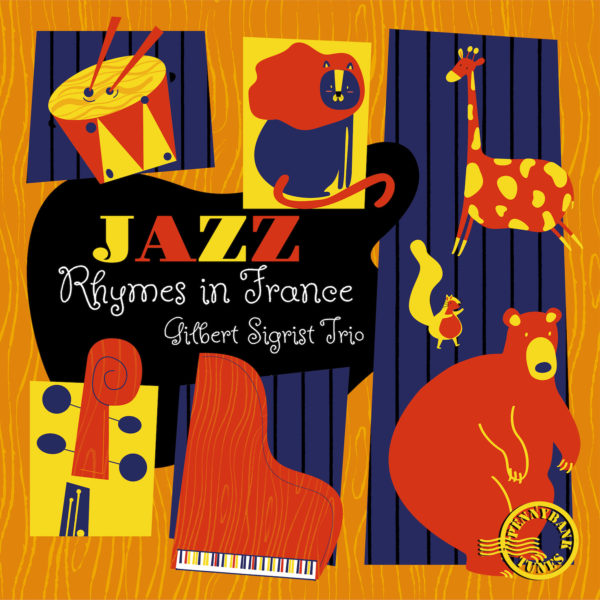 PNBT 1124 JAZZ RHYMES IN FRANCE