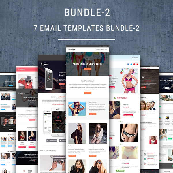 Sales sales process | templates written by: 7 Email Newsletter Templates Bundle 2 Pennyblack Templates