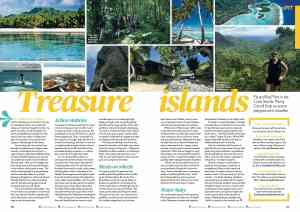 Cook Islands travel story Penny Carroll writer