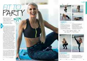 Tiffiny Hall workout feature Penny Carroll writer editor