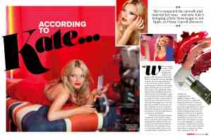 Kate Moss interview Penny Carroll writer editor