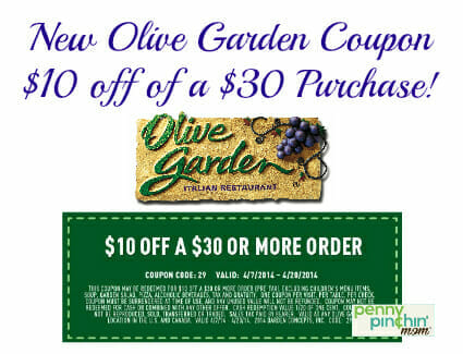 Printable Olive Garden Coupons - Boisholz